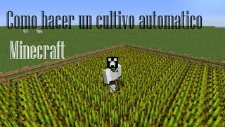 /Minecraft/Como hacer un cultivo automático/Tutorial/