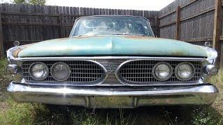 1960 Edsel Ranger barn find in Austin, Texas