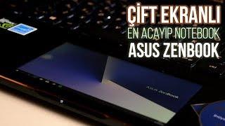 Çift Ekranlı En Acayip Notebook Asus Zenbook Pro 15 UX580GD İncelemesi