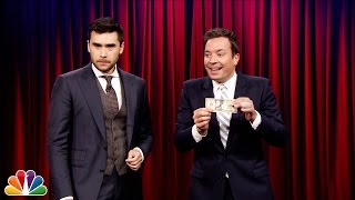 Magician Dan White Plays Hand Pocket with Jimmy Fallon