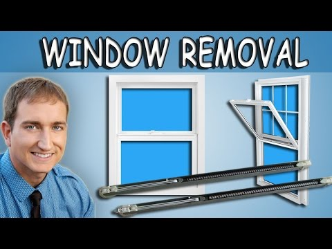 How To Remove, Replace, and Install A Single Hung Window