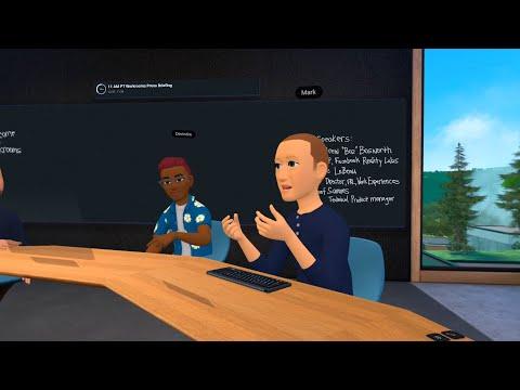 Facebook's Horizon Workrooms for Oculus Quest 2