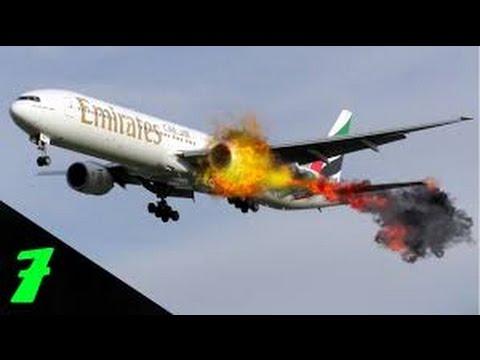 飛行機事故 極めて強烈な映像20連発 ※心臓が止まりそうになります  相互チャンネル登録 HD