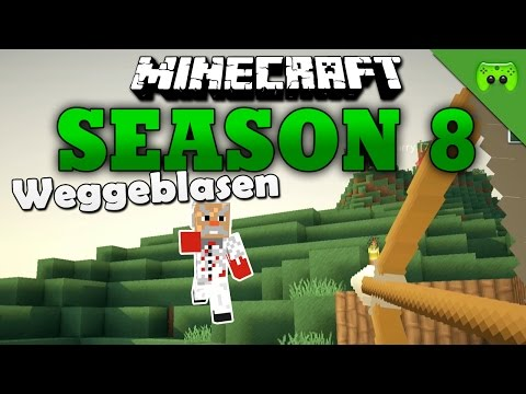 WEGGEBLASEN «» Minecraft Season 8 # 180 Full HD