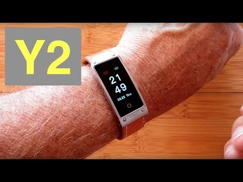 SENBONO Y2 Mens/Ladies COLOR Dress Smartwatch with Blood Pressure: Unboxing and 1st Look