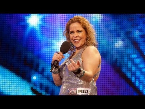 Chica Latina - Britain's Got Talent 2012 audition - UK version