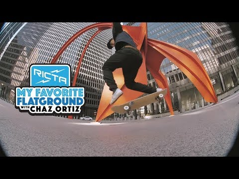 Chaz Ortiz Favorite Flatground Trick | Backside 360