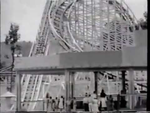 CONEY ISLAND OHIO amusement park, pre-1971 roller coasters