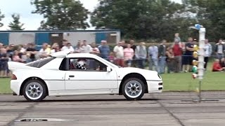 2014 London Volksfest - Ford RS200 - 12.40 @ 117mph