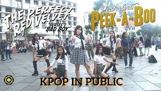 [KPOP IN PUBLIC] RED VELVET (레드벨벳) [Peek-A-Boo + Dance Break + Bad Boy]    Code DC Indonesia