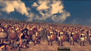 rome 2 total war Achilles alone VS one army troy machinima