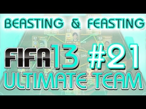 FIFA 13 Ultimate Team -- Beasting And Feasting -- Ep 21 - Pace