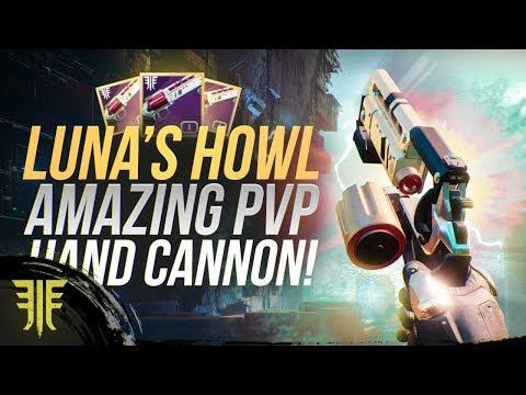 Luna's Howl God Tier PVP Hand Cannon! Destiny 2: Forsaken Weapon Review!