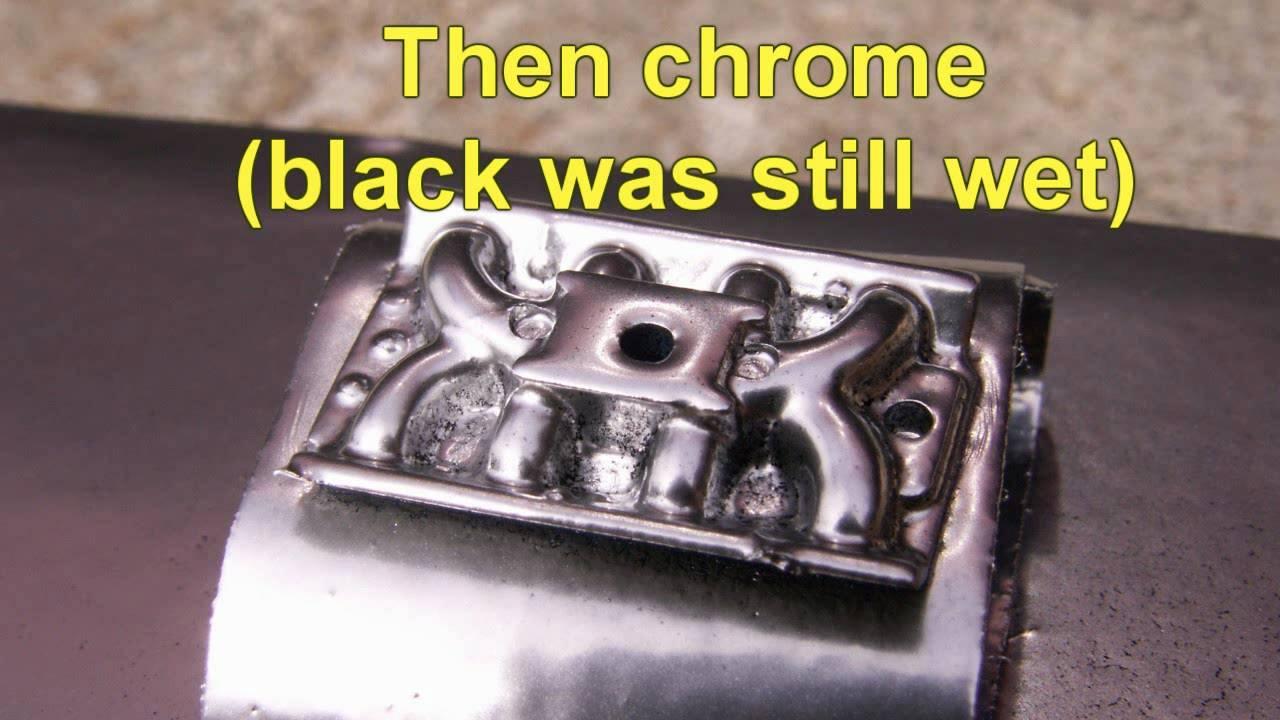 Best Enamel Chrome Paint
