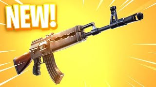NEW HEAVY AR AK-47 BUFF GAMEPLAY (FORTNITE BATTLE ROYAL)