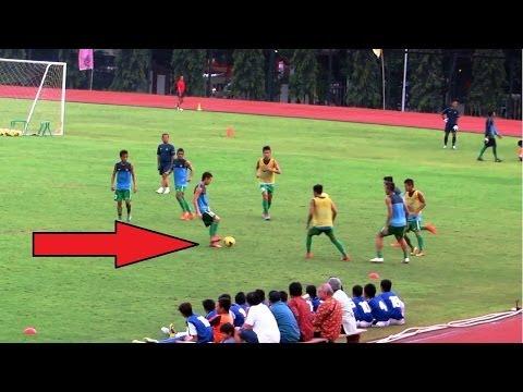 Beginilah Timnas Indonesia Latihan Titi Taka (U19)
