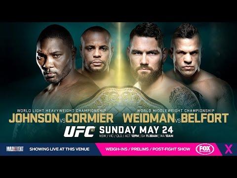 UFC 187: Johnson vs. Cormier Media Conference Call FULL & UNCUT (Weidman, Belfort, Johnson, Cormier)