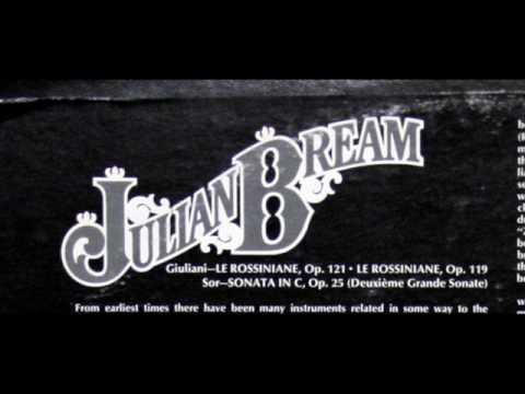 Julian Bream: Le Rossiniane, Op. 121 - Part 1 (Giuliani) - RCA, 1975, Recorded in England