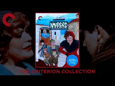Amarcord (1973) Blu-ray Digipak | Federico Fellini | The Criterion Collection | Italy | Showcasing