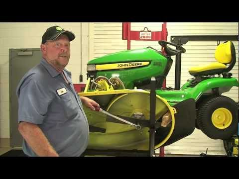 Don't Know? Ask Joe! Replacing Belt on a X300 John Deere Lawn Tractor