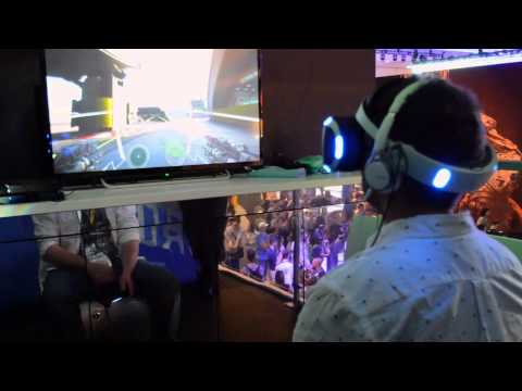 Gameplay Vide of Rigs: Mechanized Combat League on Sony's Project Morpheus at E3 2015