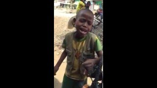 Funny Boy Singing Aster Aweke's Music