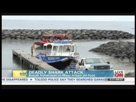 Shark attack off Maui leaves kayak fisherman dead (December 3, 2013)