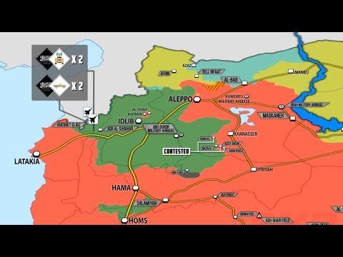 30 ноября 2017. Военная обстановка в Сирии. Сообщения об ударах китайского спецназа по джихадистам.