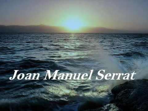 letra joan manuel serrat hombre agua: