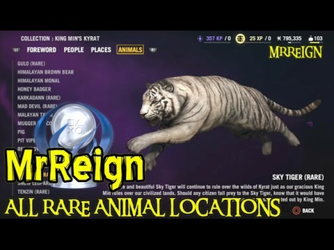 Far Cry 4 - Complete Rare Animal Guide - All Rare Animal Locations