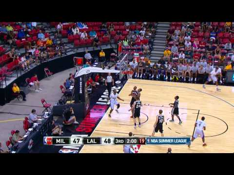 Milwaukee Bucks vs Los Angeles Lakers Summer League Recap