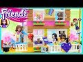 LEGO Friends Friendship House Converted Fire Station Part 1 Build Review Silly Play Kids Toys mp3
