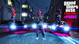 GTA 5 PRINCESS BUBBLE GUM ROBOT SQUAD! #PBGRS, #LSF [HD]