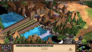 Age of Empires 2 HD The Forgotten - Dracula - Mission 1 - The Dragon Spreads His Wings