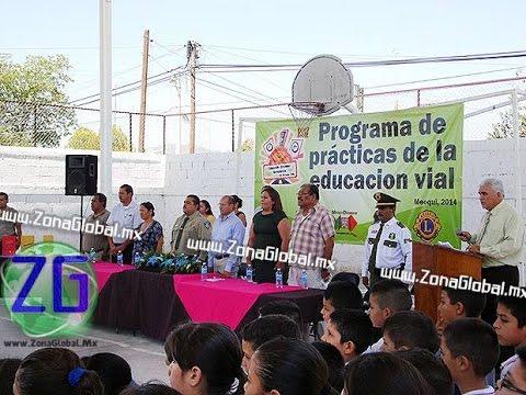 Inician Programa de Educación vial en Escuelas de Meoqui   ZG Meoqui