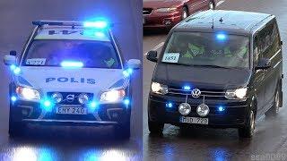 Police Unmarked VW T5+ Volvo XC70 Sweden [SE | 7.2016]