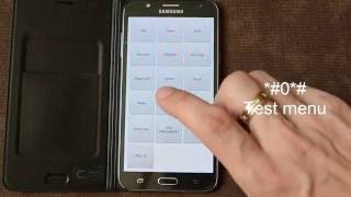 Hidden service menu of Samsung Galaxy S7, S6, S5, S4, S3, J5, J7, A5 and other