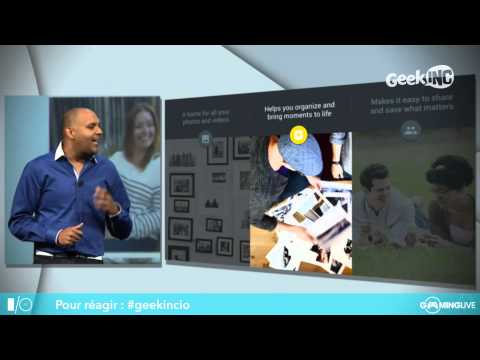 Geek Inc : Live Google I/O 2015