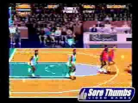 Sega Genesis Nba Jam