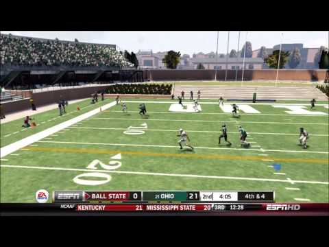 NCAA 13: NCAA 13: Coaching Carousel: Ball State Cardinals vs. Ohio Bobcats