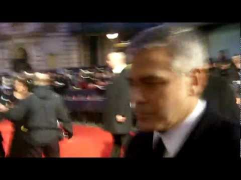 George Clooney arrival at the BAFTA Awards 2012 #2