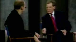 Anthony Edwards on Letterman (1996)
