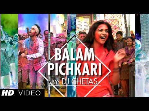 Balam Pichkari Remix Song Video Yeh Jawaani Hai Deewani | Ranbir...