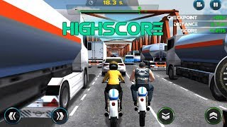 🎮Bike racing games - Moto Traffic Race - Gameplay Android free games