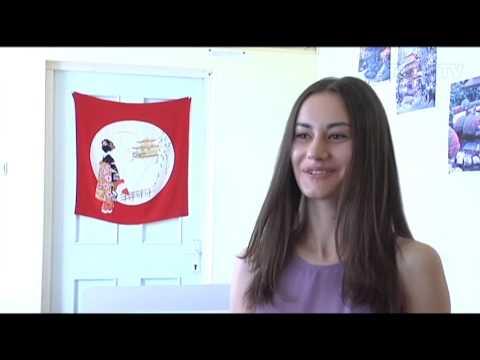 Студентка РАУ - победительница всеармянского конкурса японского языка