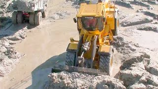 RC CONSTRUCTION  |  HEAVY RC MACHINES WOKR IN THE MUD |  BEST MACHINES | FANTASTIC RC TOYS