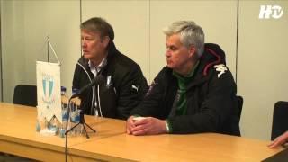 HTV: Presskonferensen efter Malmö FF - Hammarby