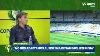 Biglia contó qué le dijeron a Sampaoli tras la derrota ante Croacia
