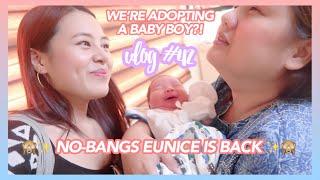 Vlog #42: WE'RE ADOPTING A BABY BOY?! + Mommy Myra's New Bias in BTS 😍✨ | Eunice Santiago