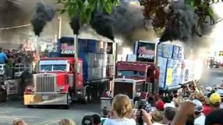 Драг Рейсинг грузовиков тяжеловесов